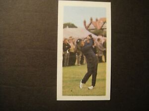 BARRATT GOLDFLAKE FAMOUS SPORTSMEN #11 GARY PLAYER  SOUTH AFRICAN GOLFER