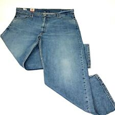 Levi's Mens 550 Jeans Big & Tall Relaxed Fit Tapered Faded New 46 x 32