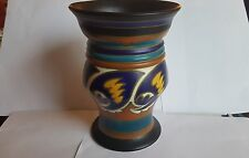 Early 20th Century Gouda Vase 'Beuka' Pattern 20.5 cm tall
