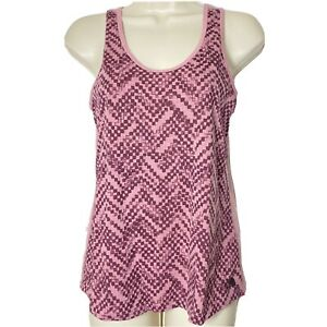The North Face Flashdry Pink Sleeveless Racerback Tank Top Womens XS