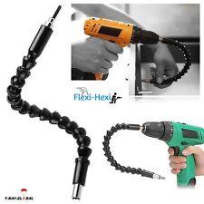 Flexible Shaft Bits Extension Screwdriver Drill Bit Holder Connecting Hex Link