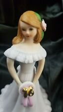 """Vintage Enesco Growing Up Birthday Girls 1982""""A Pretty Girl Is Like A Melody"""" 16"""