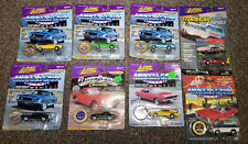 Johnny Lightning Musclecars USA GTO Charger Javelin Superbird GSX Vette Lot of 8