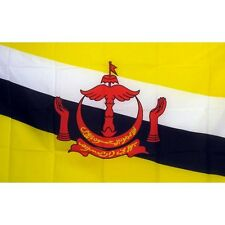 Brunei Country Flag Banner Sign 3' x 5' Foot Polyester Grommets