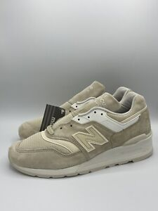New Balance 997 Made in the USA Suede Cream Tan [M997PAB] Running Shoes Size