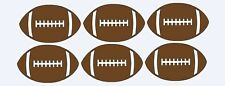 """Football Sport Ball Lot 10 Die Cuts 3"""" H Scrapbooking,Party / Card Decorations"""