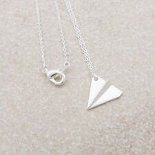 Pendant Origami Aircraft Shape Jewelry Necklace Clavicle Chain Paper Airplane