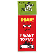 #624 MAGNETIC BOOKMARK Fortnite funny present rude Fathers Day Birthday Gift