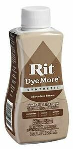 Rit DyeMore Liquid Dye, Chocolate Brown 7-Ounce,