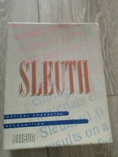 Sleuth - Optical character Regognition  -  all 32 bit Acorn risc os Archimedes
