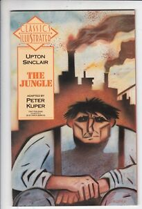 Classics Illustrated # 27 VF (8.0) Upton Sinclair The Jungle. First. White pages