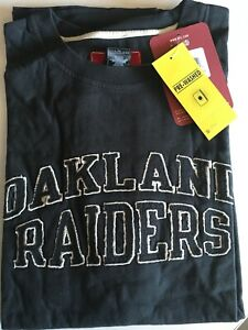NFL Oakland Raiders Black Gridiron Classic Reebok T-Shirt New - 2XL