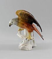 9997788 Porzellan Figur Ens Rotmilan Vogel H 24 cm