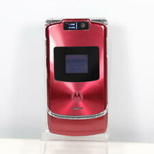 Motorola V3xx (At&T) Red 3G Flip Phone - Vintage Collector - Fast Shipping