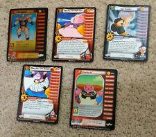 Lot x5 Dragon Ball Z-TCG Cards-Nappa Foil/Majin Buu Rotund/Eater/Dodoria-LP