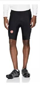 NWT Men's Castelli Evoluzione 2 Cycling Shorts Large Black