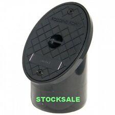 Underground Drainage Oval Rodding Eye - Plastic 110mm Black Rodding Eye