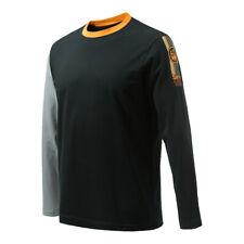 Beretta Victory Corporate Long Sleeve Tee Shirt Black TS352