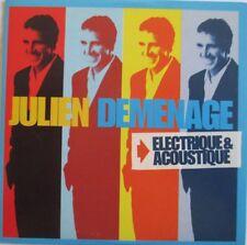 """JULIEN CLERC - CD SAMPLER PROMO 5 TITRES """"DEMENAGE (ELECTRIQUE ET ACOUSTIQUE)"""""""