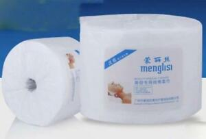 70pcs/1Roll Disposable Cotton Towel Fibre Cleansing Facial Wipes Makeup Remover