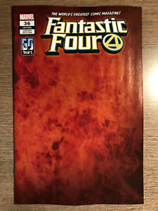 FANTASTIC FOUR #36 - FLAME VARIANT - 1ST PRINT - MARVEL (2021)