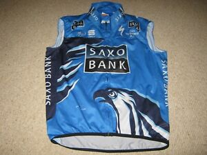 Saxo Bank Sportful Specialized cycling jersey/gilet [3XL] Unused