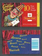 GREAT BRITAIN SCOTT 1596-1605a  SG KX7  Greetings Booklet PO Fresh Mint NH
