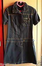 Zwarte jurk: rok en top in 1 Maat 38