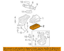HONDA OEM Engine-Air Filter Element 17220RDJJ00