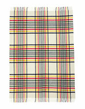 Hudson's Bay Company HBC Multi Stripe Tartan Wool Throw Blanket