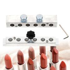 Diy Lipstick Mould Tube 0.48'' 6 Cavities Lipstick Lip Balm Stick Maker Mold