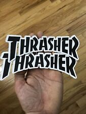 Thrasher skateboard Sticker Vinyl Decal 7x2.5 Surf Snowboard Car Truck