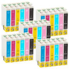 30 Patronen XL EcoSerie für Epson Stylus Photo P50 PX650 R265 RX560 TE0801-06
