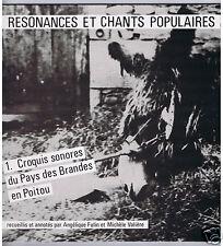 LP FRANCE ANGELIQUE FULIN CROQUIS SONORES DU PAYS DES BRANDES EN POITOU+LIVRET