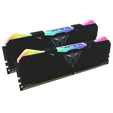 PATRIOT VIPER RGB 16gb KIT 2x8gb DDR4 BLACK 3000Mhz RGB PVR416G300C5K F43