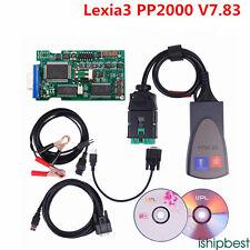 Diagbox V7.83 Lexia3 PP2000 921815C Lexia 3 V48 PP2000 V25 OBD2 Diagnostic Tool