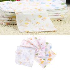 1PC Baby Cotton Soft Gauze Washcloth Bath Towel Bathing Feeding Wipe Cloth VP