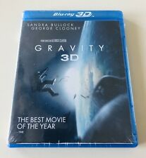 NEW SEALED Gravity (3D Blu-ray + Blu-ray + DVD +UltraViolet Combo Pack)