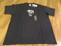 Nike Stussy International Tee T-Shirt Size Large Black Brand New DS NWT