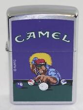 Vintage 1997 Camel Shooting Pool Zippo Lighter