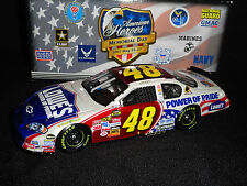Jimmie Johnson 2007 American Heroes Chevy Monte Carlo Ss