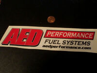 AED PERFROMANCE Sticker / Decal  ORIGINAL old stock AUTOMOTIVE