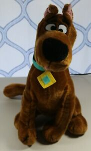 "Vintage 1997 Cartoon Network Scooby Doo Plush Stuffed Animal Toy 16"""