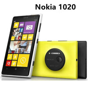 "Nokia Lumia 1020 Windows Unlocked Phone 32GB Camera 41MP GPS Wifi 4.5""Smartphone"