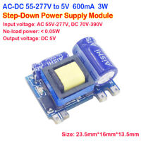 3W AC-DC Converter 110V 220V to 5V 600mA Step-Down Isolated Switch Power Module