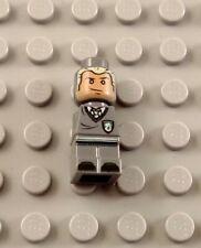LEGO Dark Bluish Gray Harry Potter Hogwarts Draco Malfoy Microfig