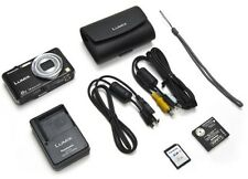 Panasonic DMC-FH20KCP 14.1MP Digital Camera 8x Lumix Optic Zoom 2GB SD Card CASE
