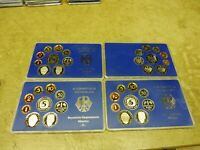 BRD , KMS / Coin Set PP , 1989  D F G J komplett , im Original Folder
