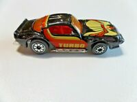 Vintage Kenner Fast 111's Turbo Firebird Trans Am Black w/Stripes Diecast