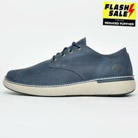 Timberland Crossmark Oxford Mens Premium Leather Casual Shoes Navy B Grade